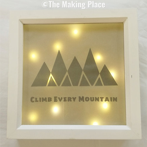 Climb Every Mountain Lightbox