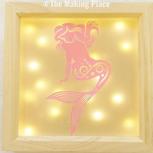 Sitting Mermaid Lightbox