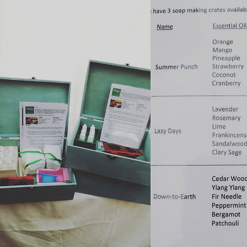 The Soap Making Crate 2 hire (4 days)