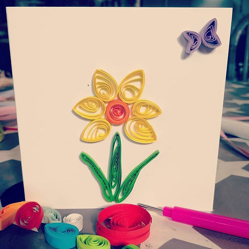 Quilling Kit - Daffodils