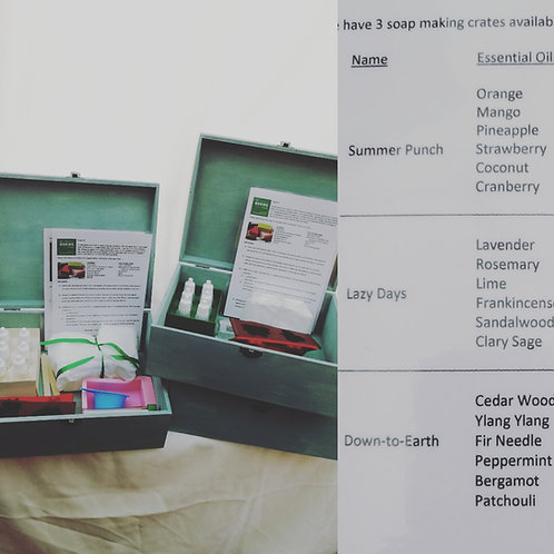 The Soap Making Crate 3 hire (4 days)
