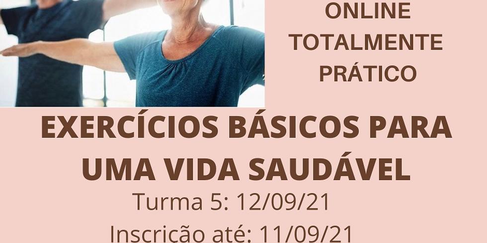 Workshop Exercícios Básicos para um Vida Saudável - Turma 5