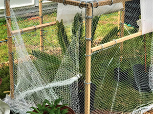 Easy stake garden system