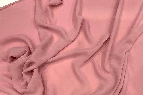 Chiffon Textured Hijab Pink Lemonade