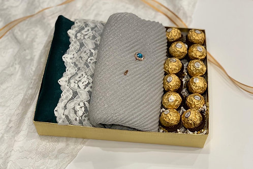 Engagement/Bridal Box - Shimmer & Chocolate