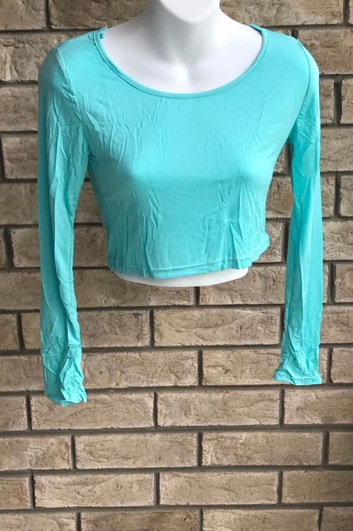 Crop Undershirt Light Teal