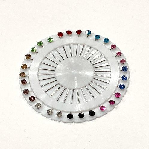 Colorful Diamond Pin Wheel
