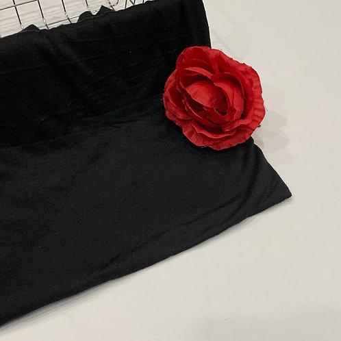 Jersey Hijab Black