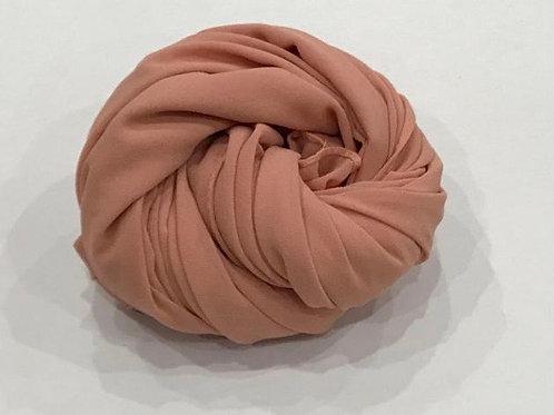 Chiffon Hijab Peach Medley