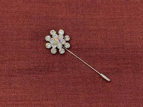 Snowflake Diamond Pin