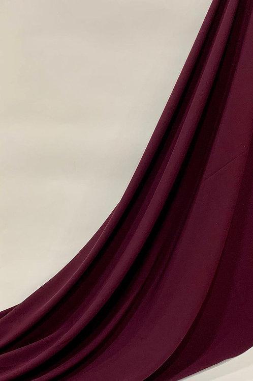 Luxury Chiffon Hijab Plum