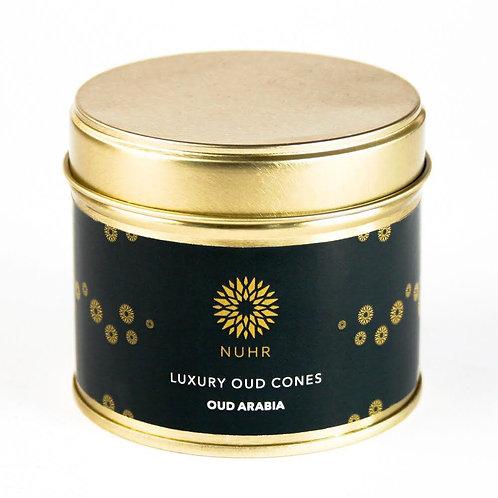 Luxury Oud Arabia Incense Cones
