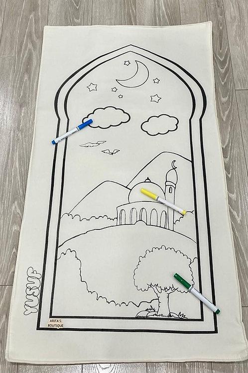Personalization - My Colouring Prayer Mat