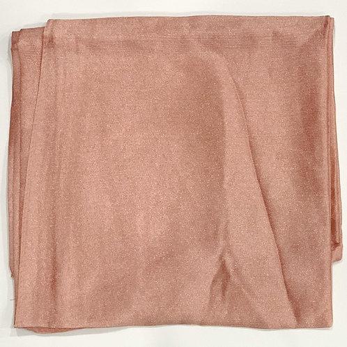 Formal square scarf blush