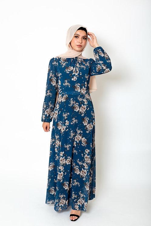 Rabia Dress Azure