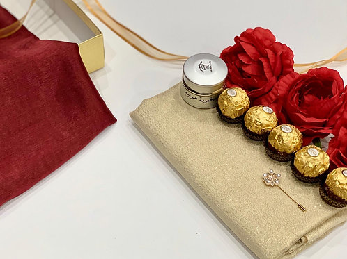 Engagement/Bridal Box - Red Roses