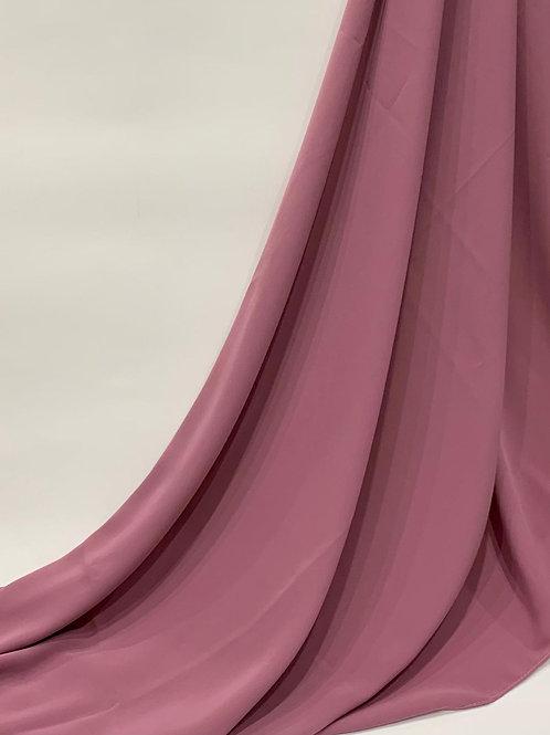 Luxury Chiffon Hijab Rose
