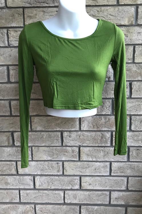 Crop Undershirt Olive