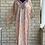 Thumbnail: Teal & Pink Floral Kaftan/Lounge Wear