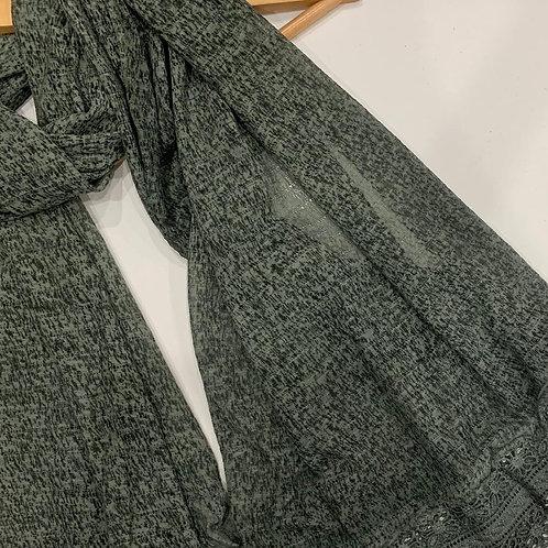 New Jersey Lace Hijab Green