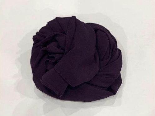Chiffon Hijab Deep Purple