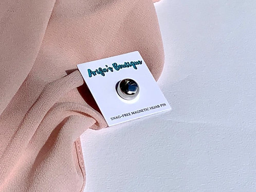 Snag Free Magnetic Pin Silver
