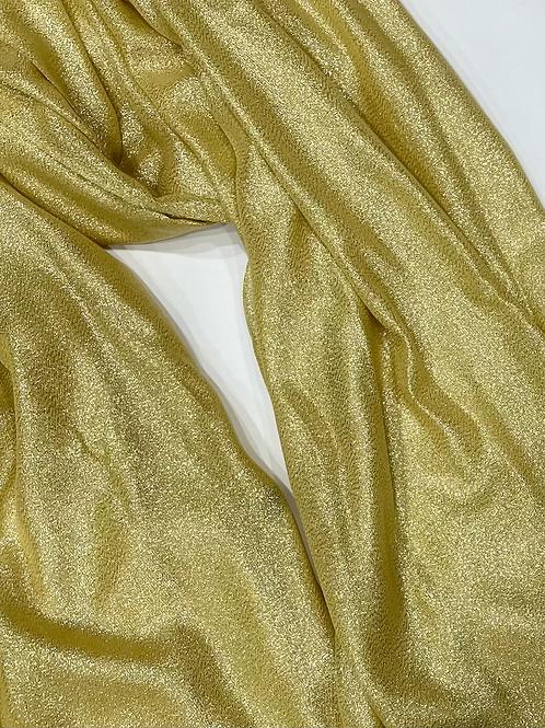 Yellow Gold Shimmer Hijab