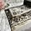 Thumbnail: Mocha Floral Arch Velvet Janamaz