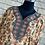 Thumbnail: Green Floral Kaftan/Lounge Wear