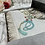 Thumbnail: Daisy White Floral Woven Velvet Janamaz
