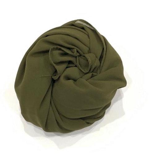 Chiffon Hijab Olive