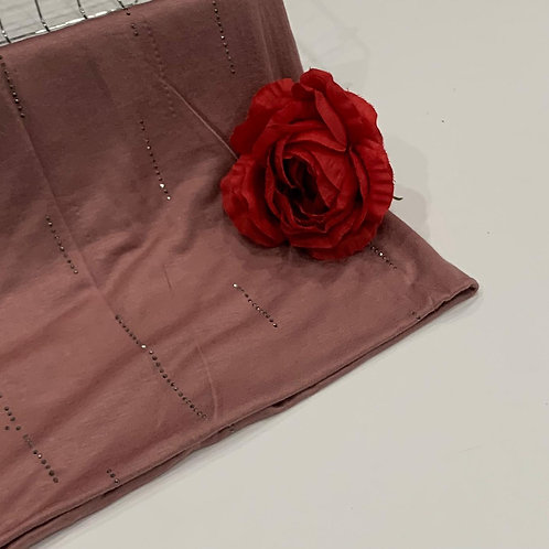 Diamond Jersey Hijab Rose Dawn