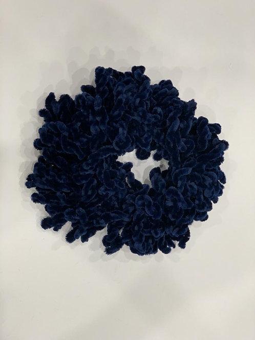 Large Scrunchie Navy Blue