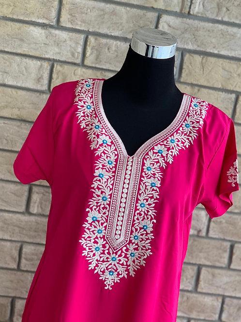Pink Kaftan / Lounge Wear
