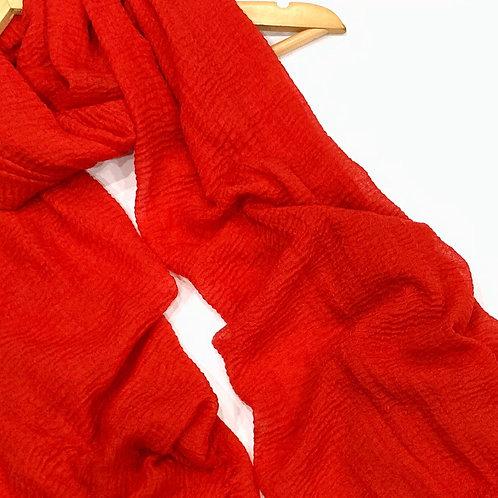 Crinkle Hijab Rouge