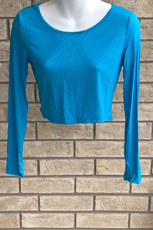 Crop Undershirt Blue