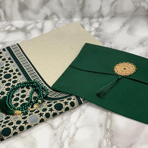 Emerald Reversible Janamaz Set