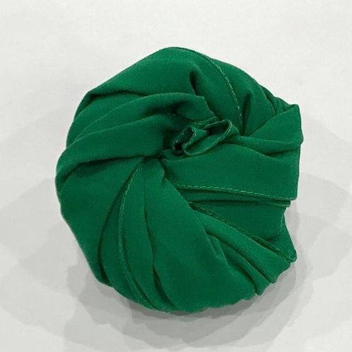 Chiffon Hijab Bright Emerald Green