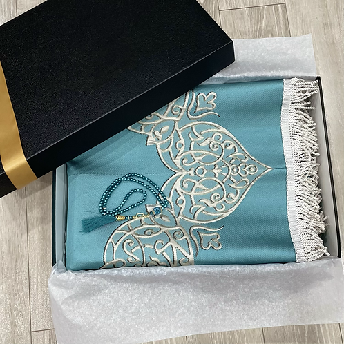 Luxury Janamaz Turquoise