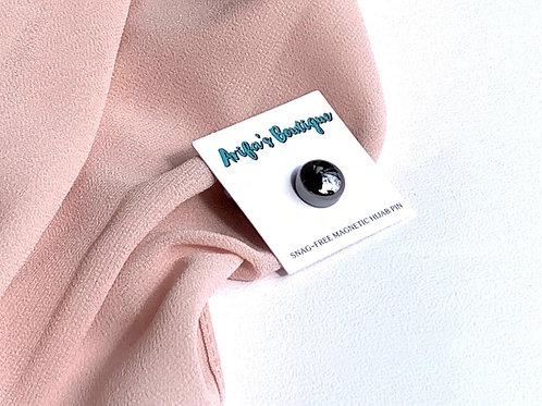 Snag Free Magnetic Pin Metallic