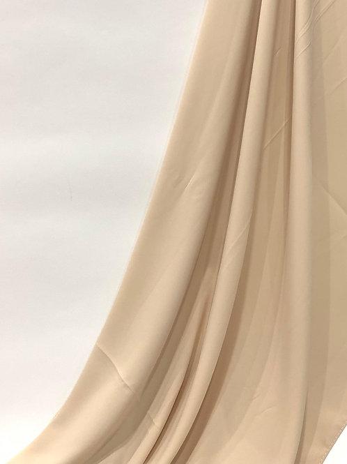 Luxury Chiffon Hijab Latte