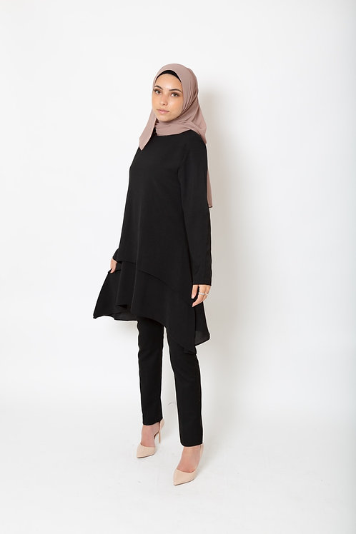 Zoya Tunic Black