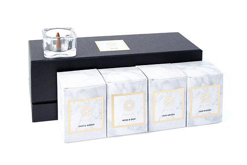 Luxury Oud Incense Cones Set