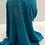 Thumbnail: Kids Hijab Small Teal Blue