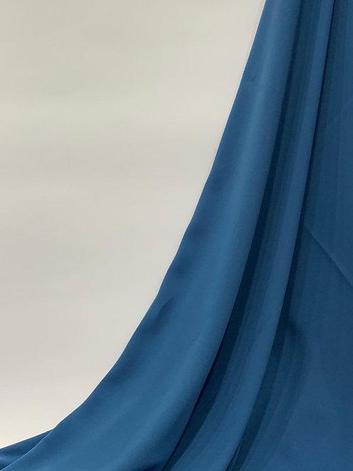 Luxury Chiffon Hijab Azure