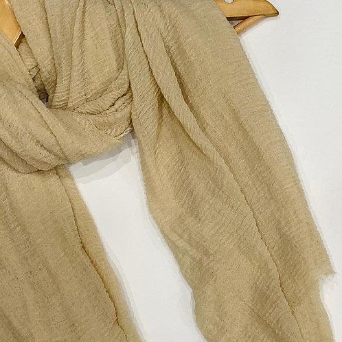 Crinkle Hijab Ivory