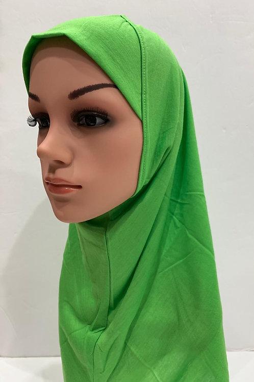 Kids Hijab Medium Lime