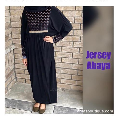 Kids Jersey Abaya