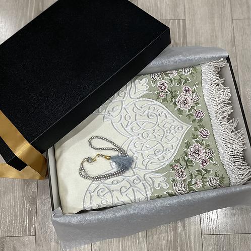 Luxury Janamaz Sage