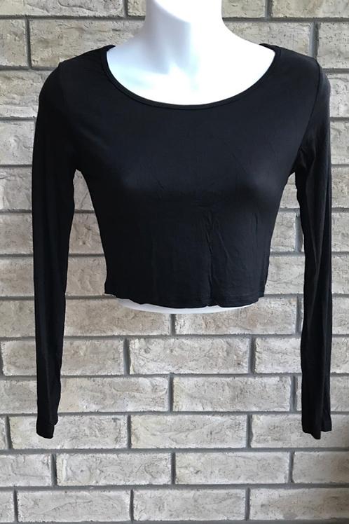 Crop Undershirt Black